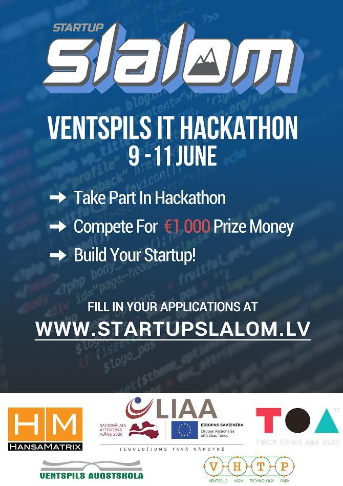 Startup Slalom visual a